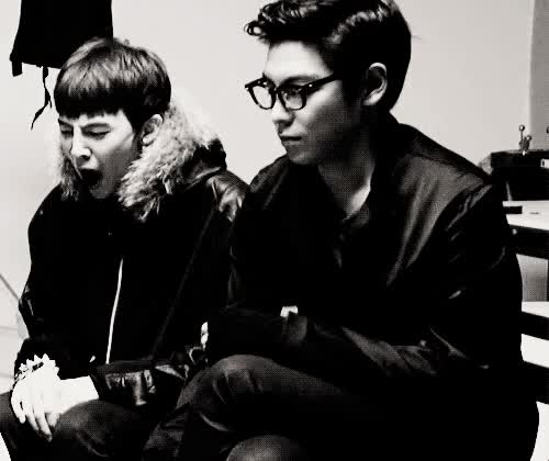 Watch and share Gif Gtop T.o.p G-dragon Topnyong Bre GD And Top GIFs on Gfycat