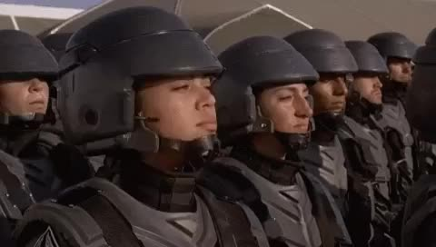 Watch and share Starship Troopers Im Doing My Part GIF - Find & Share On GIPHY GIFs on Gfycat