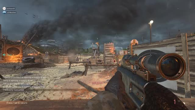 Watch Call of Duty WWII 2018.10.02 - 19.24.53.11.DVR GIF by @dude271 on Gfycat. Discover more callofdutywwii GIFs on Gfycat