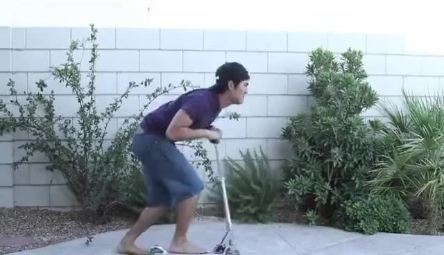 Watch this scooter GIF on Gfycat. Discover more nigahiga, scooter GIFs on Gfycat