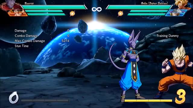 Watch Beerus Corner Combo GIF by Rebound (@y4rs) on Gfycat. Discover more related GIFs on Gfycat