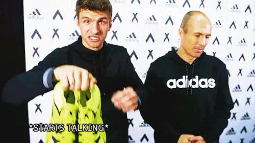 Watch and share Thomas Müller GIFs and Arjen Robben GIFs on Gfycat