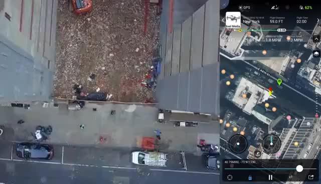 Watch DJI Mavic Pro Crash. Faulty Drone. GIF on Gfycat. Discover more related GIFs on Gfycat