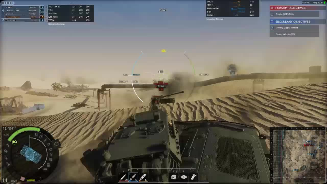armoredwarfare, Why you shouldn't hang out on the slip face of a sand dune (reddit) GIFs