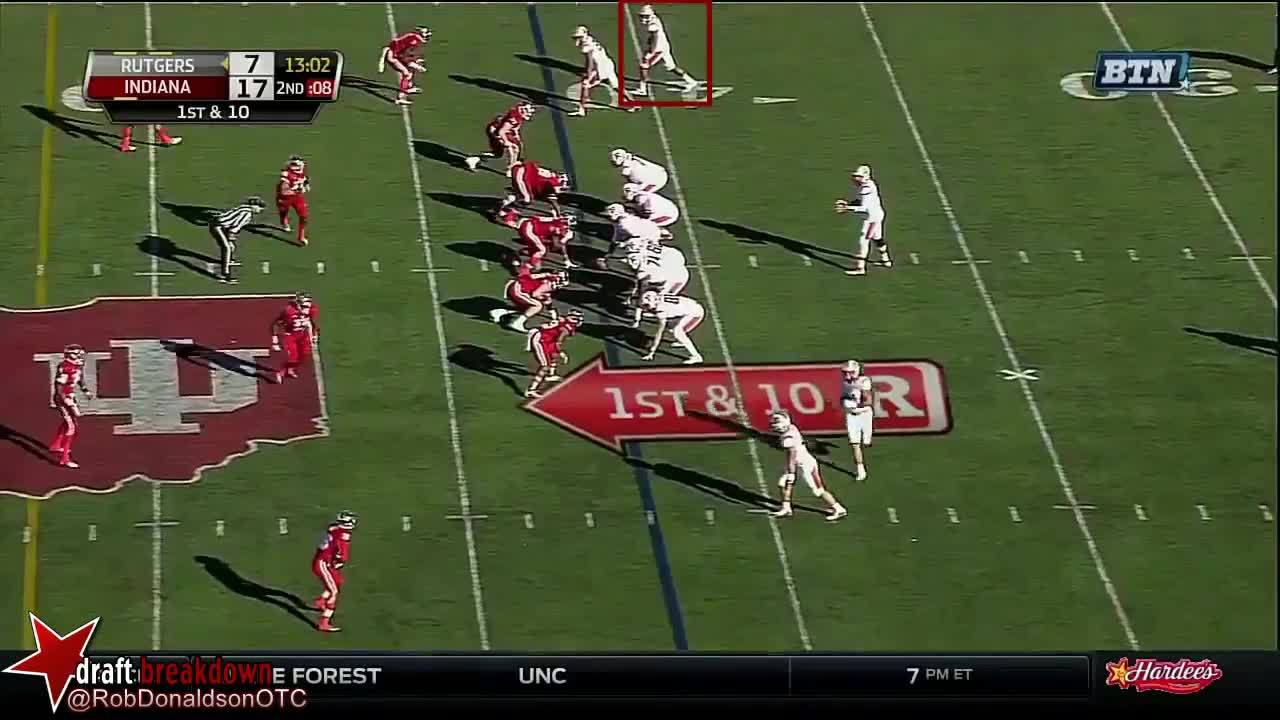 Rutgers Scarlet Knights Football (American Football Team), Wide Receiver (Sports Position), dynastyff, Leonte Carroo (Rutgers WR) vs Indiana 2015 GIFs
