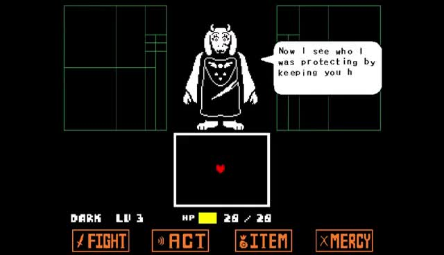 Watch and share Undertale. Toriel Fight, Genocide Mode. GIFs on Gfycat