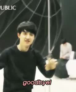 Watch and share Kyungsoo GIFs and Dogif GIFs on Gfycat