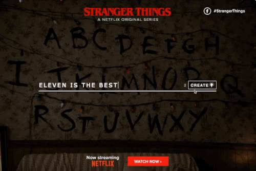 Watch and share Netflix Gif Stranger Things animated stickers on Gfycat