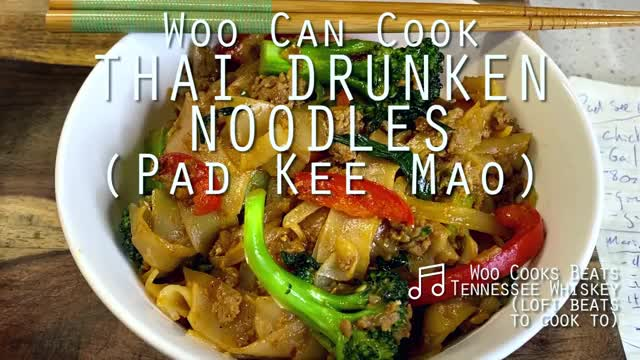 Watch and share Woo Can Cook | Thai Drunken Noodles (Pad Kee Mao) GIFs by WooCanCook on Gfycat