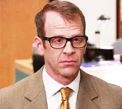 Watch and share Toby Flenderson GIFs and Creed Bratton GIFs on Gfycat
