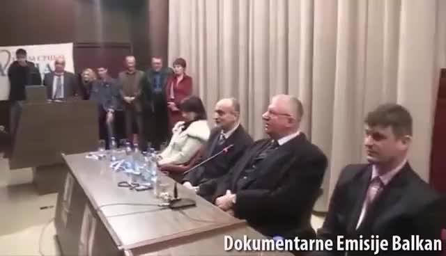 Watch and share ŠEŠELJ OBILAZI SRBIJU: Lider Radikala Vojislav Šešelj Posetio Bor! (30.03.2015) GIFs on Gfycat