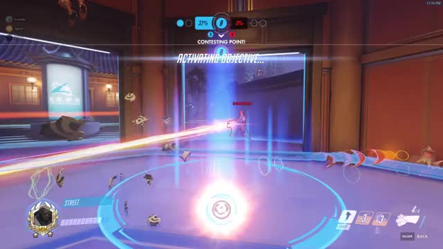 Watch and share Overwatch GIFs and Highlight GIFs by Street on Gfycat
