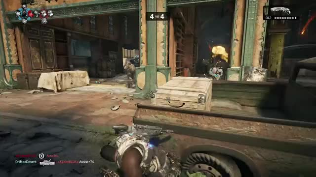 Watch this GIF by Xbox DVR (@xboxdvr) on Gfycat. Discover more DH NoLeafClover, GearsofWar4, xbox, xbox dvr, xbox one GIFs on Gfycat
