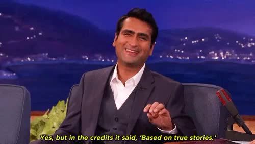 Watch and share Kumail Nanjiani GIFs and Conan O'brien GIFs on Gfycat