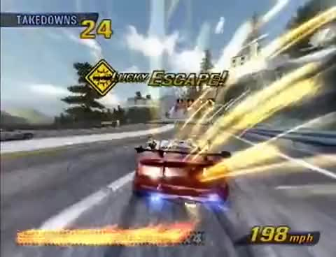 Burnaut 3 ps2 | Burnout 3: Takedown Save Game Files for PlayStation