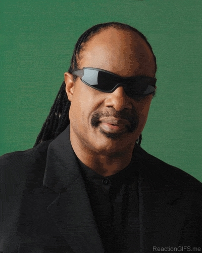 Deal With It Stevie Wonder GIFs