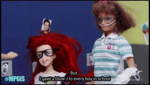 popular girls at school