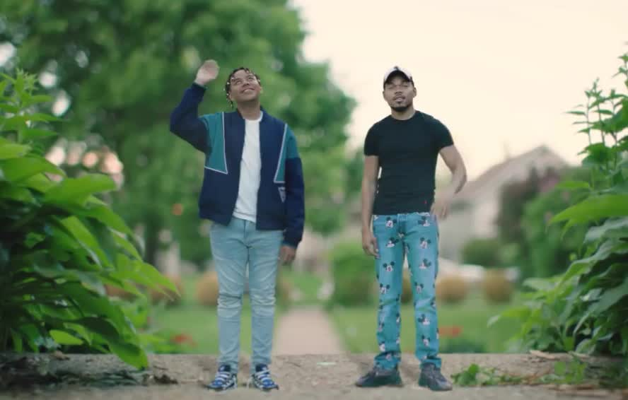 YBN, adios, bad, bye, chance, cordae, cu, goodbye, hello, hey, hi, hola, idea, later, rapper, see, smile, the, wave, you, YBN Cordae - Bad Idea (feat. Chance The Rapper) GIFs
