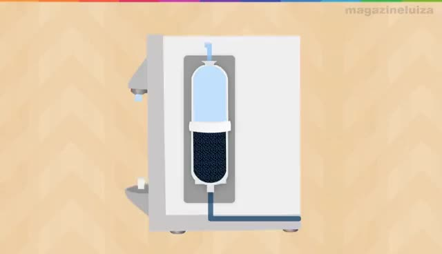 Watch and share Como Trocar O Filtro Do Purificador De Água. Olha Como É Fácil! GIFs on Gfycat