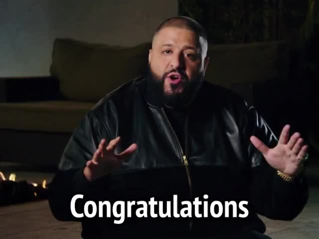 Watch and share Congratulations GIFs and Dj Khaled GIFs by MikeyMo on Gfycat