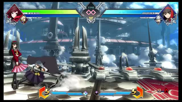 Watch Ruby/Jin 10K GIF on Gfycat. Discover more PS4share, BLAZBLUE CROSS TAG BATTLE -Trial Version-, PlayStation 4, Sony Interactive Entertainment GIFs on Gfycat