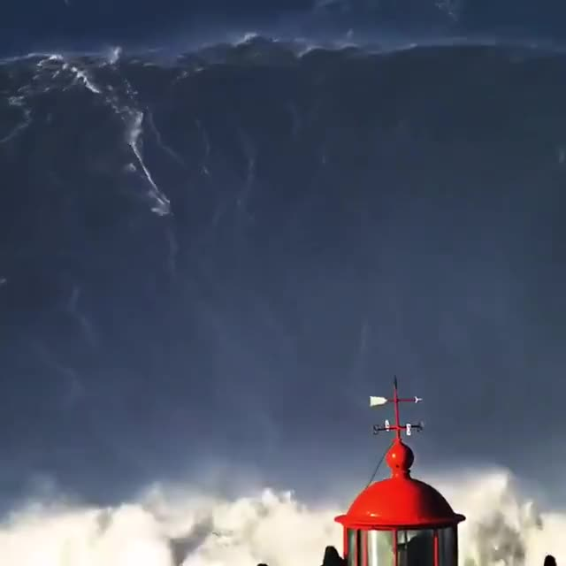 Watch Brazilian surfer Rodrigo Koxa rides a massive wave in Nazare GIF by Jackson3OH3 (@jackson3oh3) on Gfycat. Discover more Surrealistic Reality GIFs on Gfycat