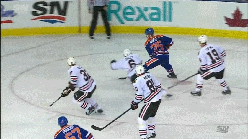 edmontonoilers, hockey, Benoit Pouliot (4) Tip-in - ASST: Darnell Nurse (4), Teddy Purcell (5) GIFs