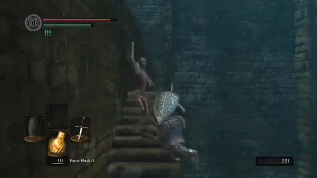 Normal Day in Dark Souls