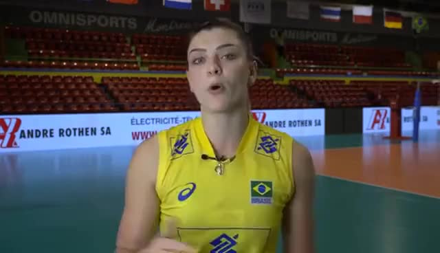 Watch Rosamaria volei brasil GIF on Gfycat. Discover more related GIFs on Gfycat