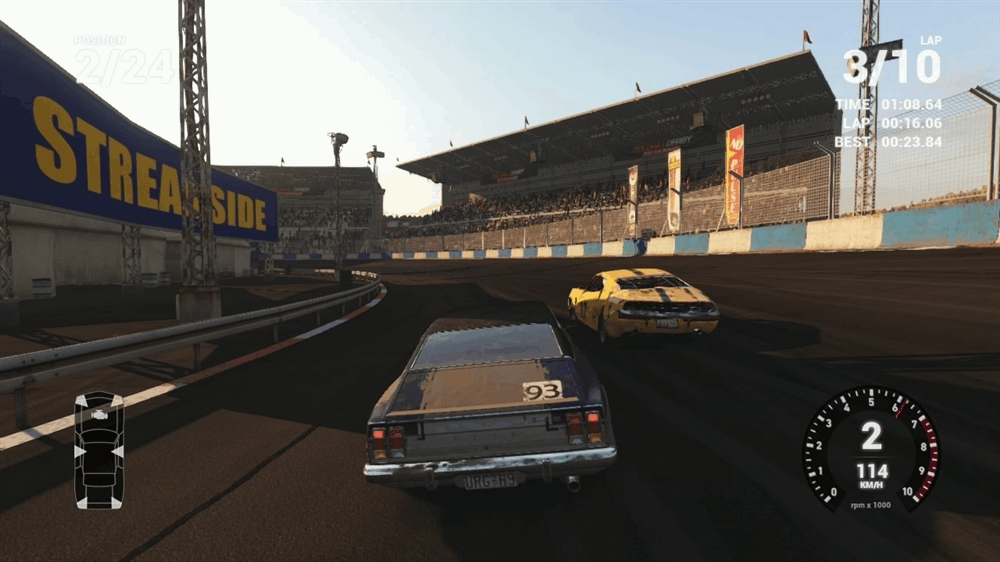 60fpsgaminggifs, Next Car Game: Wreckfest - Now with added aliasing due to poor AA options (reddit) GIFs