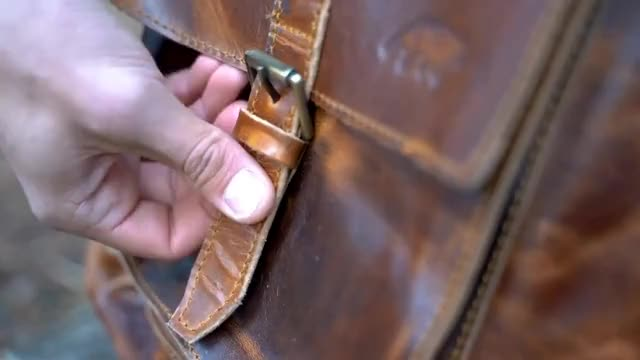 Kodiak Leather: Kobuk Leather Backpack - Official Kickstarter Video