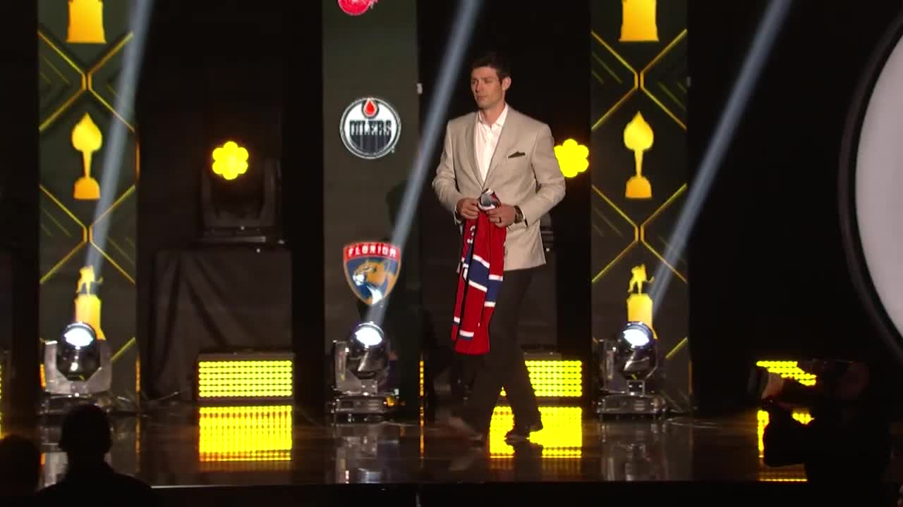 Carey Price embraces Anderson Whitehead at 2019 NHL Awards GIFs