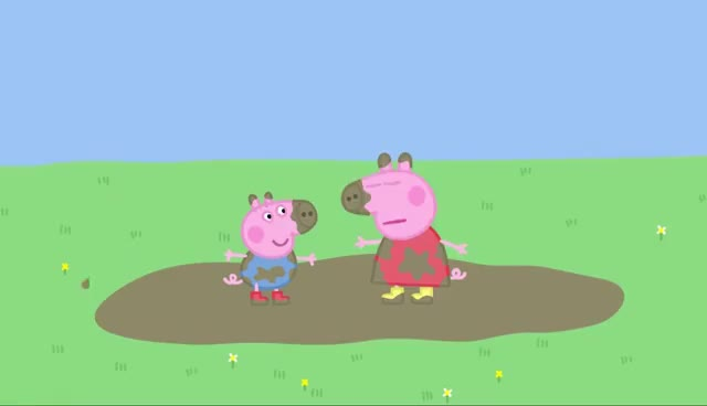 Watch and share Peppa Pig - Muddy Puddles (full Episode) GIFs on Gfycat