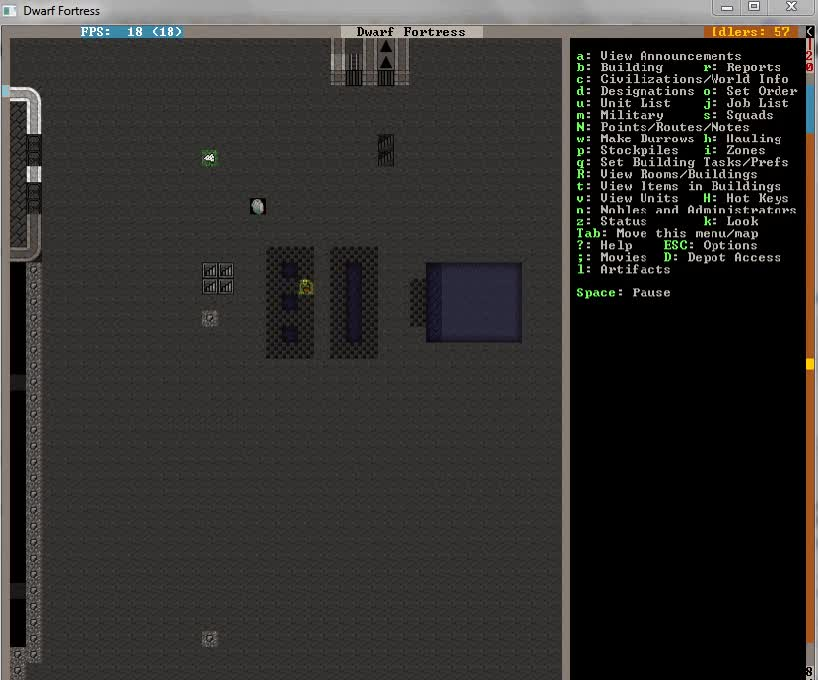 Stripping and Pitting Caged Enemies: A Guide by Mechanixm : dwarffortress GIFs