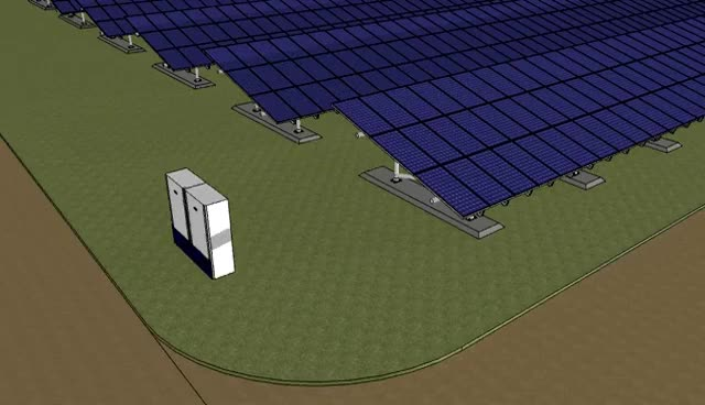 Watch and share Solar PV Shadow Simulation GIFs on Gfycat