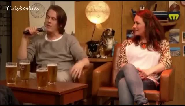 Watch and share Bård Ylvisåker On The Tørnquist Show, Live From Bergen (Subtitles) GIFs on Gfycat