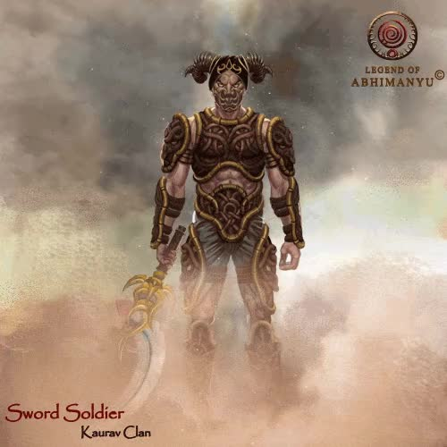 Watch Sword Soldier-One of the most lethal warriors trained GIF by LegendofAbhimanyu (@legendofabhimanyu) on Gfycat. Discover more actiongame, gif, mobilegame GIFs on Gfycat