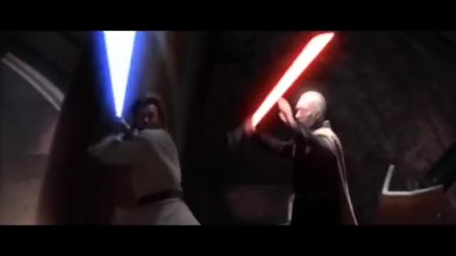 Watch and share Count Dooku GIFs and Star Wars GIFs on Gfycat