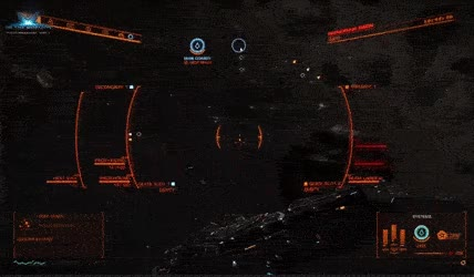 Watch and share Gif Of The Gunner Turret View • R/EliteDangerous GIFs on Gfycat