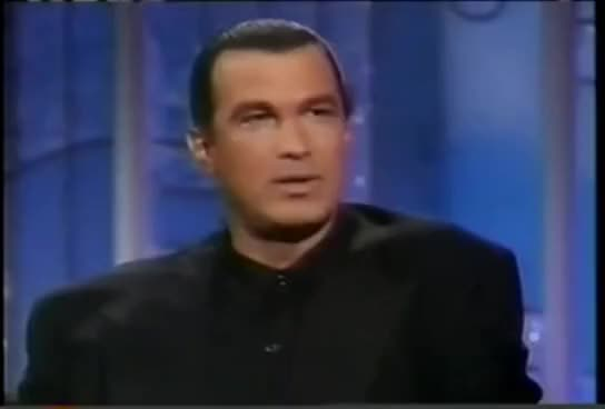 Watch and share Steven Seagal. GIFs on Gfycat