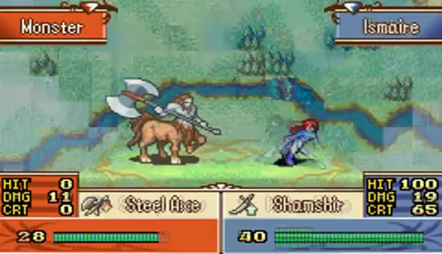 Watch and share Fire Emblem: The Sacred Stones Critical Hit Animation Collection GIFs on Gfycat