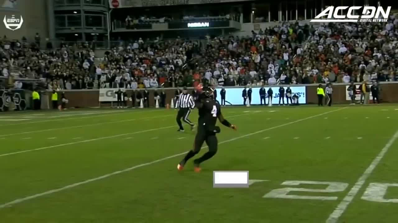 00, 2018, 2018-11-11t00, CFB, Canes, GATech, GT, Highlights, Hurricanes, acc, athletics, away, competition, en-us, high, home, mia-fl, miami, st, vl, Miami vs Georgia Tech Football Highlights (2018) GIFs