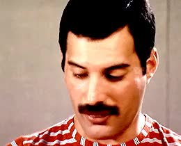 "Watch ""I never thought Fred suited smoking. []Ihave to say Fred sm GIF on Gfycat. Discover more Sacha Baron Cohen, freddie mercury, i can make a million gifs of this interview, i'm GOING to make a million gifs of this interview, my baby ♥, my gifs, okay correction, queen, queen band, rockandrollnetwork, the look on his face in the second gif, this quote is gold GIFs on Gfycat"