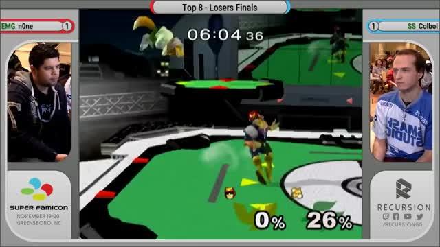 Watch Super FamiCon - Losers Finals - SS | Colbol vs EMG | n0ne GIF on Gfycat. Discover more Bros, Carolina, Con, Fami, FamiCon, North, Recursion, RecursionGG, Smash, Super GIFs on Gfycat