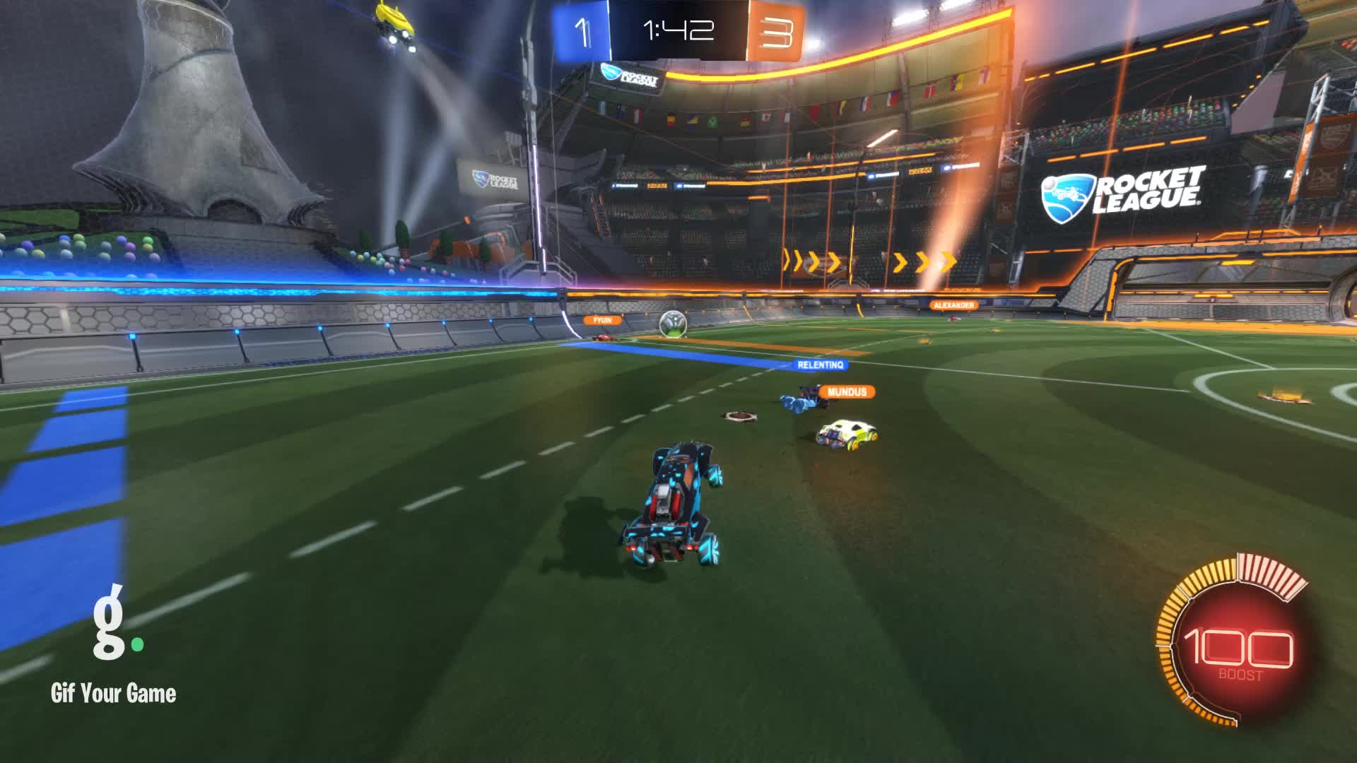 Assist, Gif Your Game, GifYourGame, Rocket League, RocketLeague, Timper [NL], Assist 3: Timper [NL] GIFs