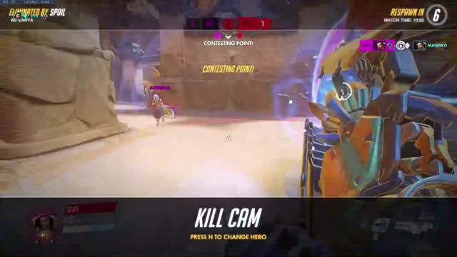 Watch and share Overwatch GIFs and Gaming GIFs by Foo on Gfycat