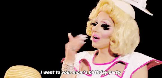 Watch stop, trixie mattel, owned GIF on Gfycat. Discover more related GIFs on Gfycat