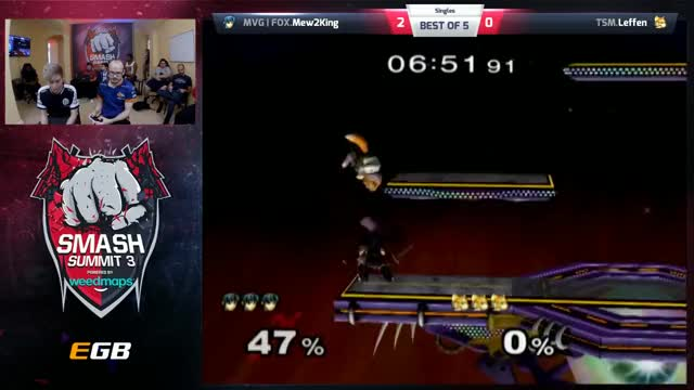 Mew2King vs Leffen - Singles - Smash Summit 3