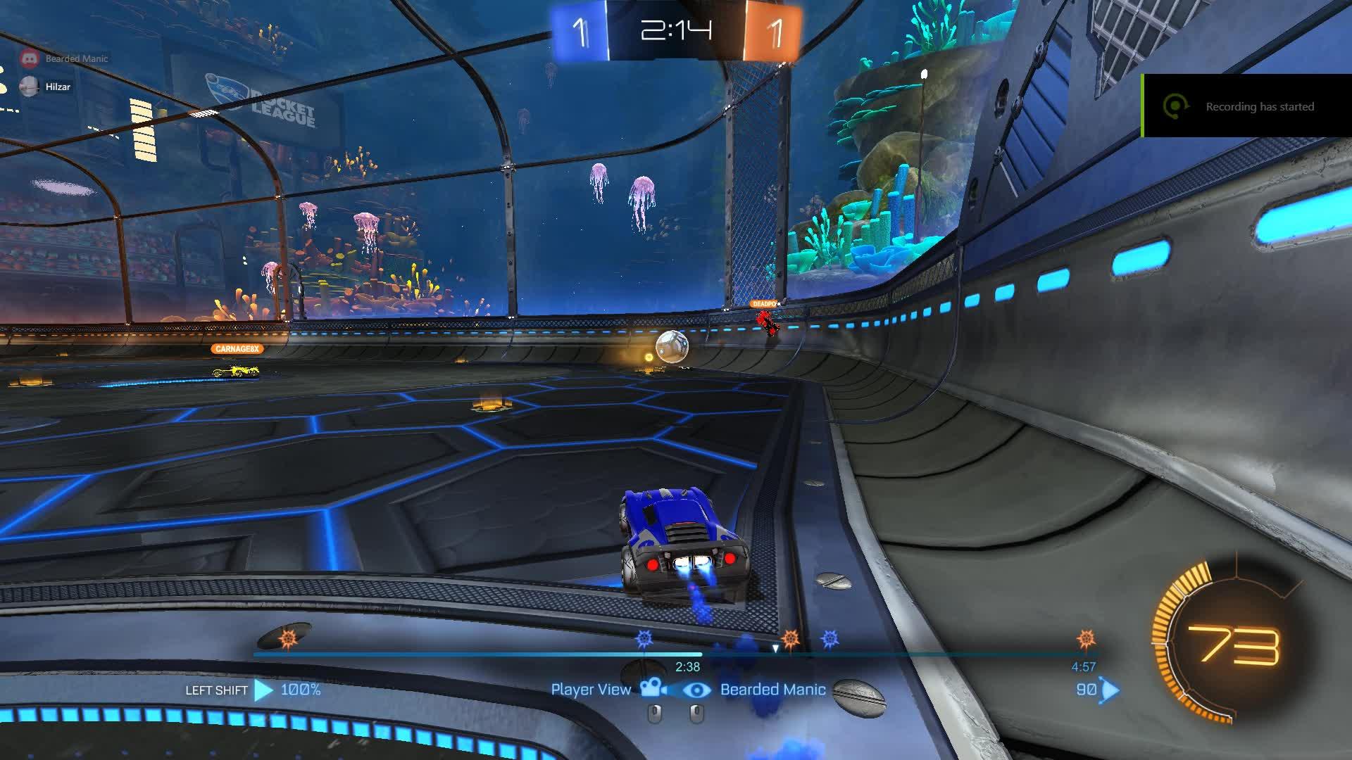 RocketLeague, beat 3 GIFs