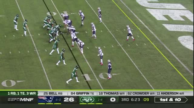 Watch and share 22 Hightower Tackles The Heck Out Of Bell GIFs on Gfycat